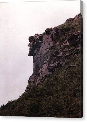 Old Canvas Print - Old Man Of The Mountain by Wayne Toutaint