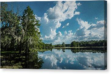 Old Man River Canvas Print by Marvin Spates