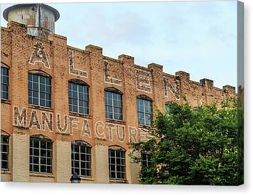Old Mill Building In Buford Canvas Print