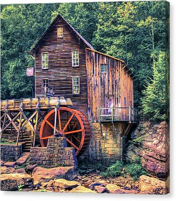 Old Mill In Beckley West Virginia Canvas Print by Gregory Ballos