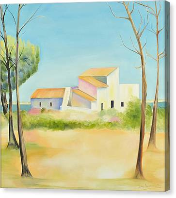 Old Mill In The Algarve Canvas Print