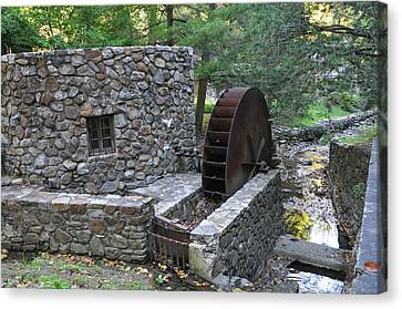 Old Mill Near Gladwyne Pa Canvas Print