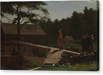 Old Mill  Canvas Print by Winslow Homer