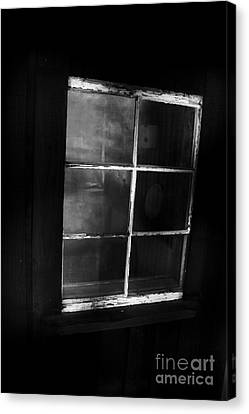 Cabin Wall Canvas Print - Old Miners Cabin Window by Jorgo Photography - Wall Art Gallery
