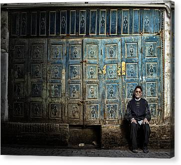 Old Canvas Print by Mohammad Reza Akhoondi