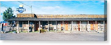 Old Motel In Tonopah, Nevada Canvas Print