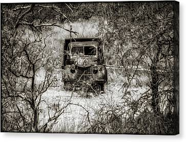 Old N Forgotten Canvas Print