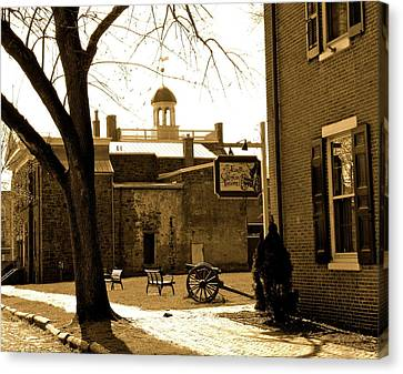 Old New Castle Canvas Print by Bradley Smith