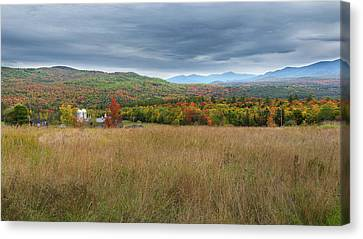 Old New England Farm 2016 Canvas Print by Bill Wakeley