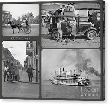 Old New Orleans Canvas Print by John Malone