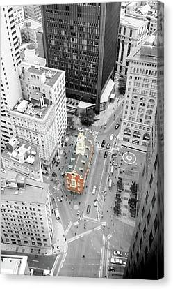 Old State House Canvas Print by Greg Fortier