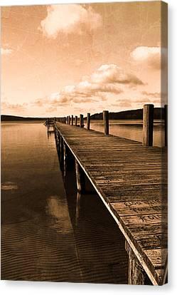 Old Oak Bridge Canvas Print by Tommytechno Sweden