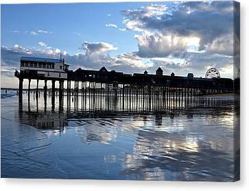 Old Orchard Beach Pier Canvas Print