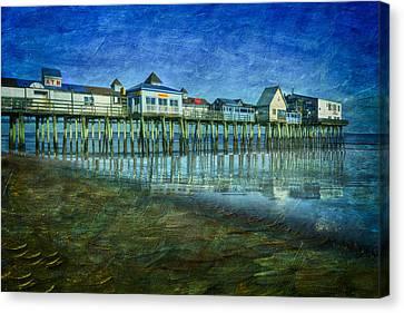 Old Orchard Beach Pier  Oob Canvas Print by Susan Candelario