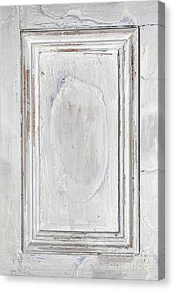 Panel Door Canvas Print - Vintage Wooden Door Panel by Elena Elisseeva
