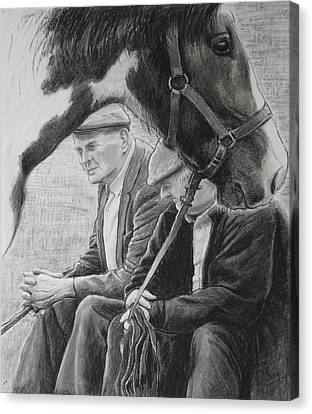 Co. Clare Canvas Print - Old Pals Spancilhill by Tomas OMaoldomhnaigh