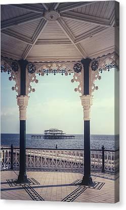 old pier Brighton Canvas Print by Joana Kruse