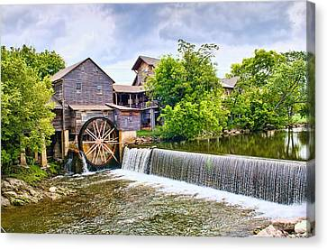 Old Pigeon Forge Mill Canvas Print