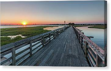 Old Pitt Street Bridge  Canvas Print