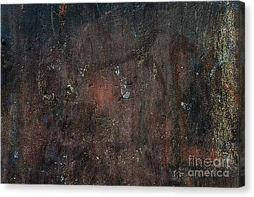 Canvas Print featuring the photograph Old Plastered And Painted Wall by Elena Elisseeva
