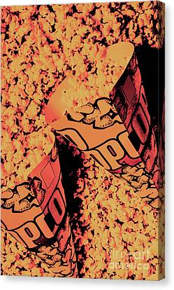 Old Pop Corn Culture Canvas Print by Jorgo Photography - Wall Art Gallery