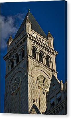 Old Post Office Pavilion Tower Canvas Print by Stuart Litoff