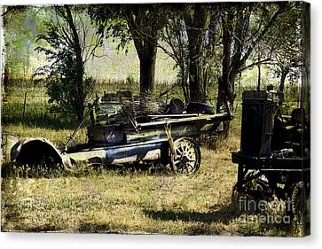 Old Rail Canvas Print
