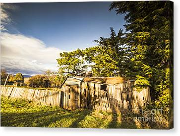 Old Ramshackle Wooden Shack Canvas Print by Jorgo Photography - Wall Art Gallery