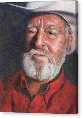 Old Ranger Canvas Print