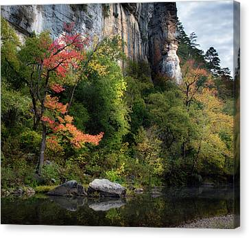 Old Red 5x6 Canvas Print by James Barber