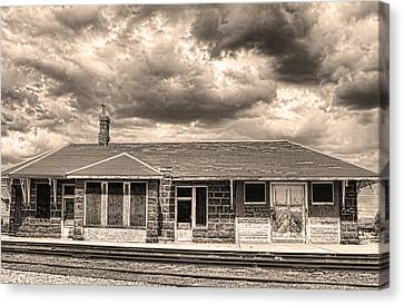 Old Rio Grande Train Stop Canvas Print by James BO  Insogna