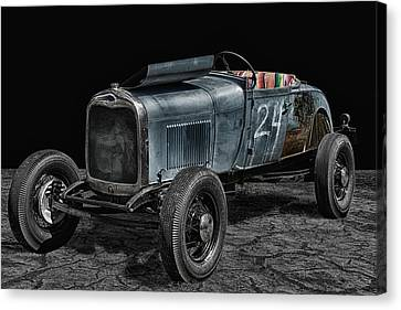 Old Roadster Canvas Print