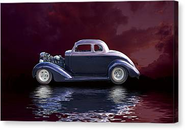 Old Rod Canvas Print by Jim  Hatch