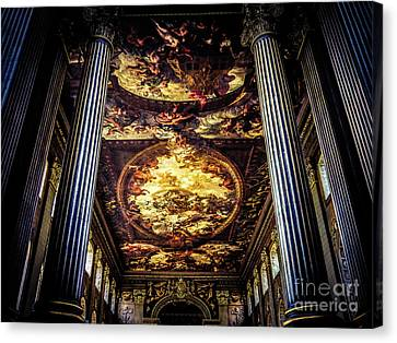 Old Royal Naval College 1 Canvas Print by Lexa Harpell