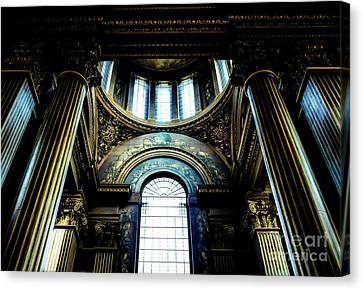 Old Royal Naval College 2 Canvas Print by Lexa Harpell