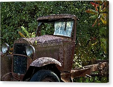 Old Rusty Canvas Print by Ross Powell