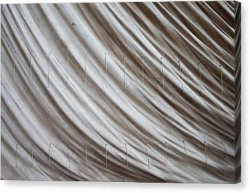 Sail Cloth Canvas Print - Old Sailcloth by Artur Bogacki