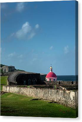 Cemetary Canvas Print - Old San Juan by Marvin Spates