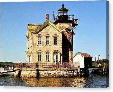 Old Saugerties Lighthouse Canvas Print by Ira Shander