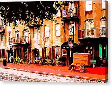 Old Savannah Canvas Print