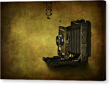 Camera Canvas Print - Old School by Evelina Kremsdorf