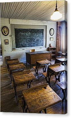 Lessons Canvas Print - Old School by Stephen Stookey