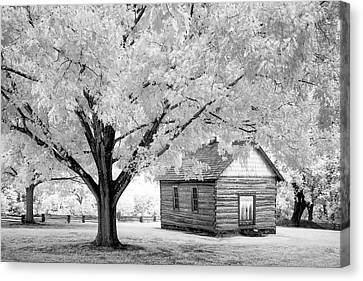Old Schoolhouse Canvas Print by James Barber