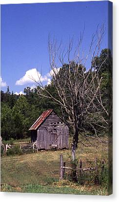 Old Shack Canvas Print by Curtis J Neeley Jr