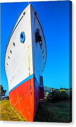 Old Ship Bow Canvas Print
