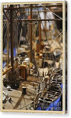 Old Ship Canvas Print by Stefano Senise
