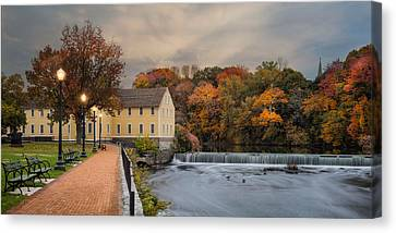 Old Slater Mill Canvas Print