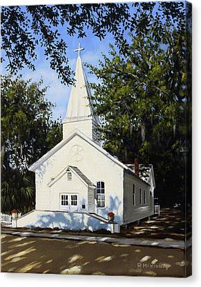 Old St. Andrew Church Canvas Print by Rick McKinney