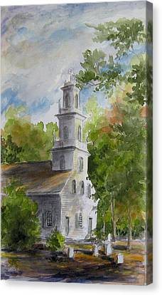 Old St. David's In The Fall Canvas Print