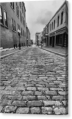 Old St. Louis Street Canvas Print by Scott Nelson